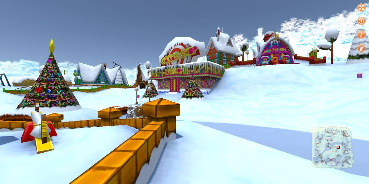 A view from Winter Village